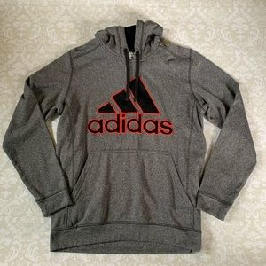 Adidas climawarm hoodie size large